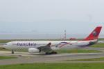 ぶちょさんが、関西国際空港で撮影したトランスアジア航空 A330-343Xの航空フォト(飛行機 写真・画像)