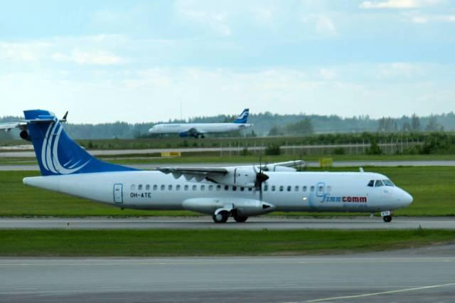 フィンコム航空 ATR 72 OH-ATE ...