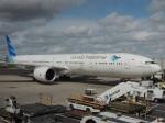 シフォンさんが、アムステルダム・スキポール国際空港で撮影したガルーダ・インドネシア航空 777-3U3/ERの航空フォト(飛行機 写真・画像)