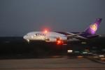 meijeanさんが、成田国際空港で撮影したタイ国際航空 A380-841の航空フォト(写真)