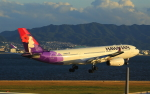ふじいあきらさんが、関西国際空港で撮影したハワイアン航空 A330-243の航空フォト(飛行機 写真・画像)