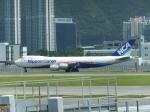 シフォンさんが、香港国際空港で撮影した日本貨物航空 747-8KZF/SCDの航空フォト(飛行機 写真・画像)