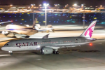 こだしさんが、羽田空港で撮影したカタール航空 787-8 Dreamlinerの航空フォト(写真)