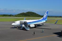 Masashi717さんが、大島空港で撮影した全日空 737-781の航空フォト(飛行機 写真・画像)