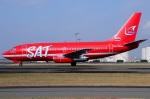 Yusuke2435さんが、新千歳空港で撮影したサハリン航空 737-2J8/Advの航空フォト(写真)