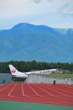 松本空港 - Matsumoto Airport [MMJ/RJAF]で撮影されたジェイ・エア - J-AIR [JLJ]の航空機写真