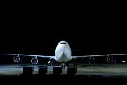 鹿児島のぽりっす♪さんが、鹿児島空港で撮影したアトラス航空 747-47UF/SCDの航空フォト(飛行機 写真・画像)