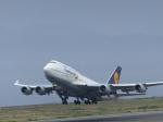 Meggyさんが、関西国際空港で撮影したルフトハンザドイツ航空 747-430の航空フォト(写真)