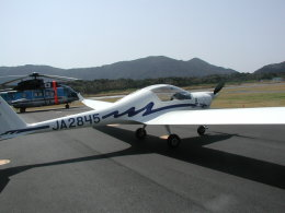 めじろさんが、新島空港で撮影した日本グライダークラブ HK36TTC Super Dimonaの航空フォト(飛行機 写真・画像)