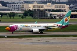 航空フォト:HS-DBQ ノックエア 737-800