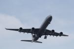 ANA744Foreverさんが、羽田空港で撮影したルフトハンザドイツ航空 A340-642の航空フォト(写真)