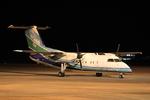 Kuuさんが、鹿児島空港で撮影したオリエンタルエアブリッジ DHC-8-201Q Dash 8の航空フォト(飛行機 写真・画像)