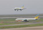 ふじいあきらさんが、羽田空港で撮影したAIR DO 767-33A/ERの航空フォト(写真)