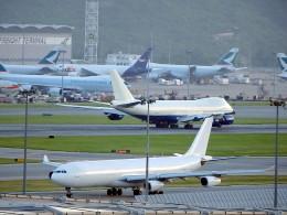 wrbluebl5さんが、香港国際空港で撮影したフィリピン航空 A340-313Xの航空フォト(飛行機 写真・画像)