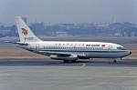 Gambardierさんが、名古屋飛行場で撮影した中国国際航空 737-2T4/Advの航空フォト(写真)