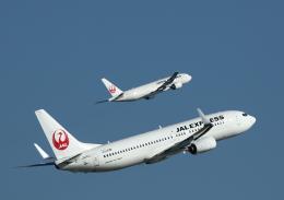 toshirouさんが、羽田空港で撮影したJALエクスプレス 737-846の航空フォト(写真)