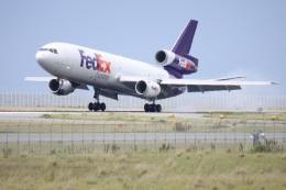 turt@かめちゃんさんが、関西国際空港で撮影したフェデックス・エクスプレス MD-10-10Fの航空フォト(写真)
