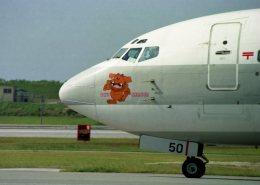 空の旅人さんが、那覇空港で撮影した日本トランスオーシャン航空 737-2Q3/Advの航空フォト(飛行機 写真・画像)