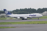 ANA744Foreverさんが、成田国際空港で撮影したポーラーエアカーゴ 747-46NF/SCDの航空フォト(写真)
