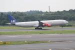 ANA744Foreverさんが、成田国際空港で撮影したスカンジナビア航空 A340-313Xの航空フォト(写真)