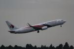 ANA744Foreverさんが、成田国際空港で撮影したマレーシア航空 737-8H6の航空フォト(写真)