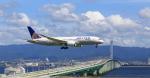 ふじいあきらさんが、関西国際空港で撮影したユナイテッド航空 787-8 Dreamlinerの航空フォト(飛行機 写真・画像)