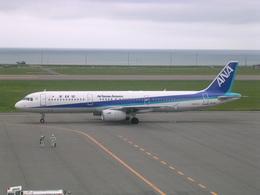 けろんさんが、稚内空港で撮影した全日空 A321-131の航空フォト(飛行機 写真・画像)