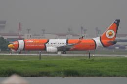kingmengraiさんが、ドンムアン空港で撮影したノックエア 737-83Nの航空フォト(飛行機 写真・画像)