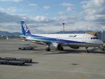 けろんさんが、伊丹空港で撮影した全日空 A320-211の航空フォト(写真)