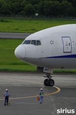 イチカメさんが、熊本空港で撮影した全日空 777-281の航空フォト(写真)
