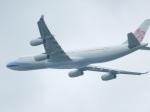 ハピネスさんが、関西国際空港で撮影したチャイナエアライン A340-313Xの航空フォト(飛行機 写真・画像)