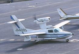 しょうせいさんが、岡南飛行場で撮影した日本個人所有 LA-270 Turbo Renegadeの航空フォト(飛行機 写真・画像)
