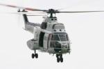 hiroriokorokoroさんが、東京臨海広域防災公園ヘリポートで撮影したアメリカ海軍 AS332 Super Pumaの航空フォト(写真)