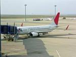 delawakaさんが、中部国際空港で撮影した日本航空 737-846の航空フォト(飛行機 写真・画像)