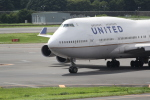 ANA744Foreverさんが、成田国際空港で撮影したユナイテッド航空 747-422の航空フォト(写真)