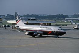 Gambardierさんが、ジュネーヴ・コアントラン国際空港で撮影したブリティッシュ・エアウェイズ 737-236/Advの航空フォト(飛行機 写真・画像)