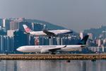 SKYLINEさんが、啓徳空港で撮影したガルーダ・インドネシア航空 A330-341の航空フォト(飛行機 写真・画像)