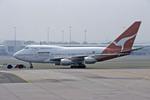 Gambardierさんが、シドニー国際空港で撮影したカンタス航空 747SP-38の航空フォト(写真)