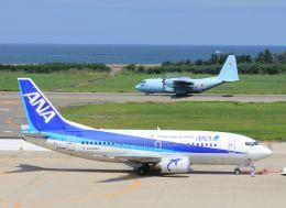 MIL26Tさんが、新潟空港で撮影したANAウイングス 737-5L9の航空フォト(飛行機 写真・画像)