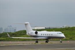 こずぃろうさんが、羽田空港で撮影したアメリカ企業所有 G-IV Gulfstream IVの航空フォト(飛行機 写真・画像)