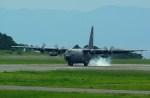 rjnsphotoclub-No.07さんが、静岡空港で撮影したアメリカ空軍 C-130 Herculesの航空フォト(写真)