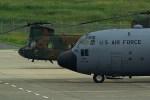 rjnsphotoclub-No.07さんが、静岡空港で撮影したアメリカ空軍 C-130H Herculesの航空フォト(写真)