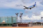 てるやっちさんが、那覇空港で撮影した全日空 767-381の航空フォト(写真)