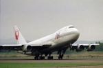 ATOMさんが、新千歳空港で撮影した日本航空 747-146B/SRの航空フォト(飛行機 写真・画像)