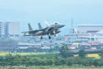 パンダさんが、小松空港で撮影した航空自衛隊 F-15J Eagleの航空フォト(写真)
