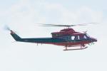 パンダさんが、富山空港で撮影した富山県消防防災航空隊 412EPの航空フォト(飛行機 写真・画像)