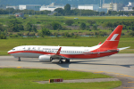 パンダさんが、富山空港で撮影した上海航空 737-86Dの航空フォト(写真)