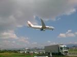 わたくんさんが、福岡空港で撮影した日本航空 787-8 Dreamlinerの航空フォト(写真)