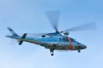 パンダさんが、新潟空港で撮影した新潟県警察 A109E Powerの航空フォト(飛行機 写真・画像)