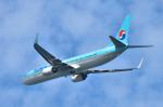 パンダさんが、新潟空港で撮影した大韓航空 737-9B5/ER の航空フォト(写真)